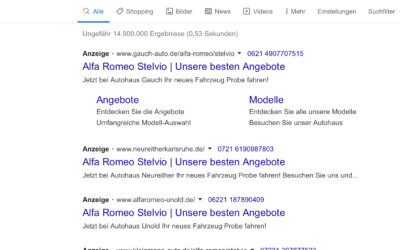 Google Ads über den Hersteller schalten?