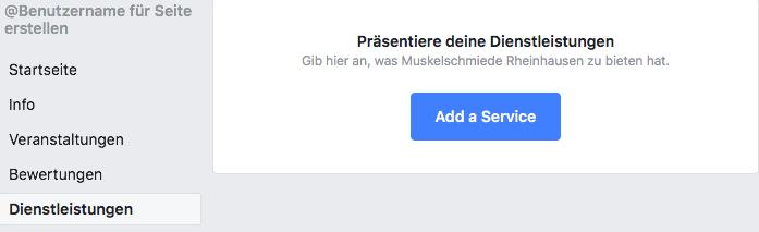 Facebook-Dienstleistung-hinzufuegen