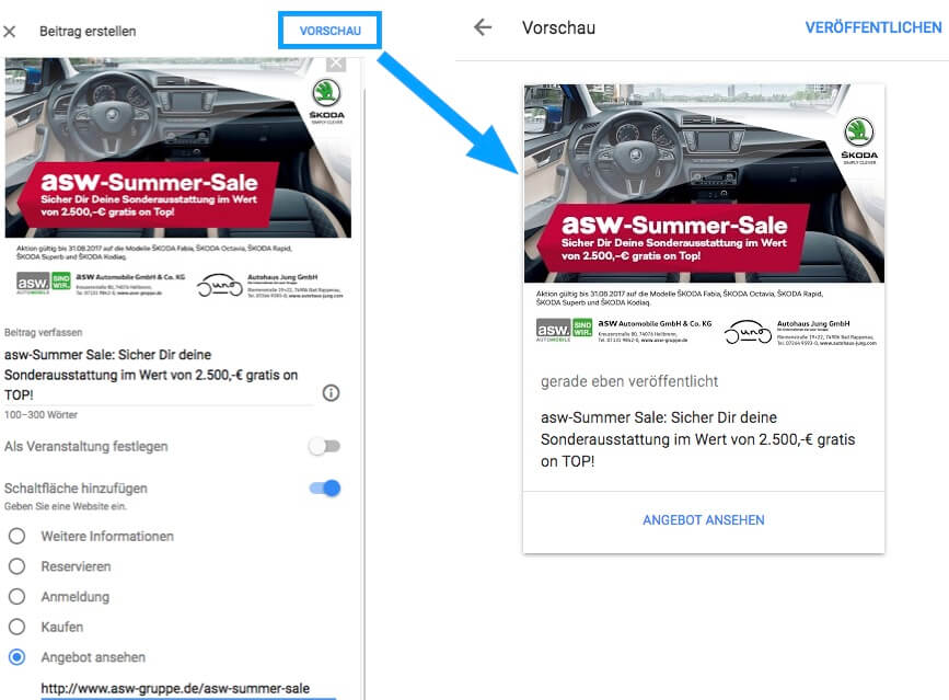 asw-summer-sale-google-mybusiness-betitrag