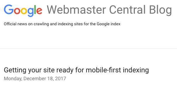 Ist deine Website bereit für den mobile-first index von Google?