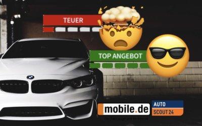 Warum du die Preisbewertung auf mobile.de und autoscout24.de nicht deaktivieren kannst